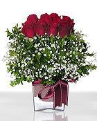 Kocaeli çiçek siparişi vermek  11 adet gül mika yada cam - anneler günü seçimi -
