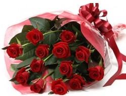 Kocaeli online çiçekçi , çiçek siparişi  10 adet kipkirmizi güllerden buket tanzimi