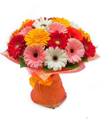 Renkli gerbera buketi  Kocaeli online çiçekçi , çiçek siparişi