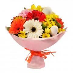 Karışık mevsim buketi Mevsimsel çiçek  Kocaeli hediye sevgilime hediye çiçek