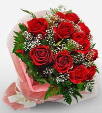 12 adet kırmızı güllerden kaliteli gül  çiçek online çiçek siparişi