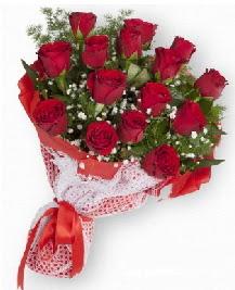 11 kırmızı gülden buket  çiçekçi telefonları