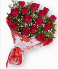 11 adet kırmızı gül buketi  kaliteli taze ve ucuz çiçekler
