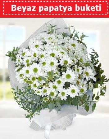 Beyaz Papatya Buketi  yurtiçi ve yurtdışı çiçek siparişi