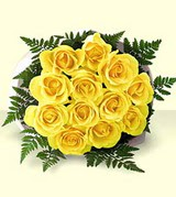 kaliteli taze ve ucuz çiçekler  12 adet sarigül kalite buket
