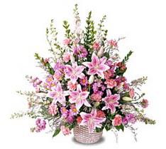 Kocaeli uluslararası çiçek gönderme  Tanzim mevsim çiçeklerinden çiçek modeli