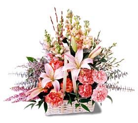 Kocaeli uluslararası çiçek gönderme  mevsim çiçekleri sepeti özel tanzim