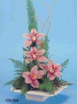 Kocaeli çiçekçiler  vazoda 4 adet orkide