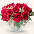 Kocaeli İnternetten çiçek siparişi  mika yada cam içerisinde 10 gül - sevenler için ideal seçim -