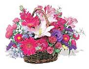 küçük karisik özel sepet   Kocaeli İnternetten çiçek siparişi