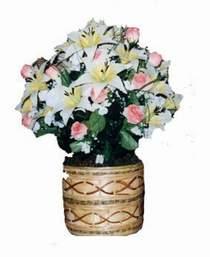 yapay karisik çiçek sepeti   Kocaeli çiçek gönderme sitemiz güvenlidir