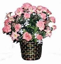 yapay karisik çiçek sepeti  Kocaeli İnternetten çiçek siparişi