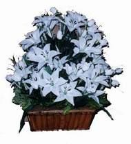 yapay karisik çiçek sepeti   Kocaeli çiçek servisi , çiçekçi adresleri