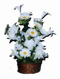 yapay karisik çiçek sepeti  çiçek online çiçek siparişi