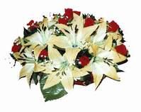 yapay karisik çiçek sepeti   Kocaeli hediye sevgilime hediye çiçek