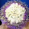 71 adet beyaz gül buketi   Kocaeli çiçek siparişi vermek