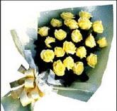 sari güllerden sade buket  Kocaeli çiçek siparişi vermek