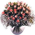 büyük cam fanusta güller   çiçek siparişi sitesi