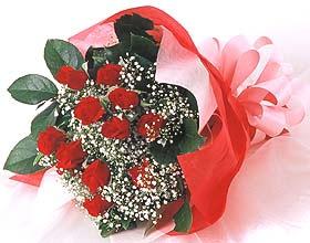 12 adet kirmizi gül buketi  Kocaeli çiçek mağazası , çiçekçi adresleri