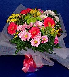 karisik sade mevsim demetligi   yurtiçi ve yurtdışı çiçek siparişi