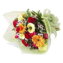 karisik mevsim buketi   Kocaeli çiçek , çiçekçi , çiçekçilik