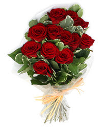 Kocaeli ucuz çiçek gönder  9 lu kirmizi gül buketi.