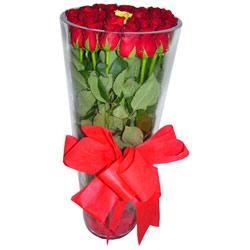 Kocaeli İnternetten çiçek siparişi  12 adet kirmizi gül cam yada mika vazo tanzim