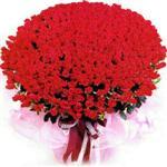 Kocaeli çiçek , çiçekçi , çiçekçilik  1001 adet kirmizi gülden çiçek tanzimi