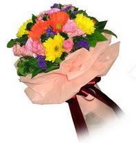 Kocaeli cicekciler , cicek siparisi  Karisik mevsim çiçeklerinden demet