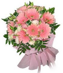kaliteli taze ve ucuz çiçekler  Karisik mevsim çiçeklerinden demet