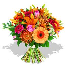 Kocaeli çiçekçiler  Karisik kir çiçeklerinden görsel demet
