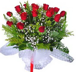 Kocaeli internetten çiçek siparişi  12 adet kirmizi gül buketi esssiz görsellik