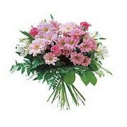 karisik kir çiçek demeti  Kocaeli internetten çiçek siparişi