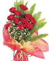 11 adet kaliteli görsel kirmizi gül  Kocaeli internetten çiçek siparişi