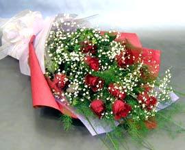 10 adet kirmizi gül çiçegi gönder  Kocaeli online çiçekçi , çiçek siparişi