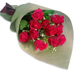 Uluslararasi çiçek firmasi 11 adet gül yolla  çiçek yolla