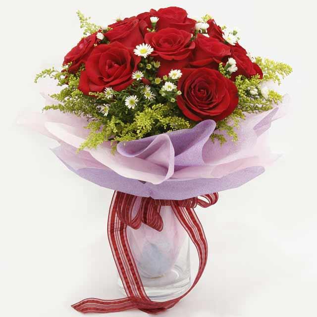 Çiçek gönderme estetikliginiz 11 gül buket  Kocaeli cicekciler , cicek siparisi