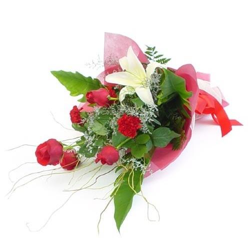 Mevsim çiçeklerinden karisik buket  Kocaeli çiçek mağazası , çiçekçi adresleri