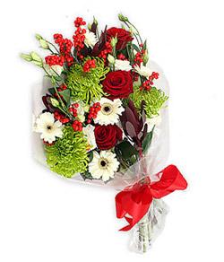 Karisik mevsim buketi çiçek tanzimi  Kocaeli hediye sevgilime hediye çiçek