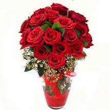 Kocaeli uluslararası çiçek gönderme   9 adet kirmizi gül