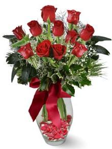 9 adet gül  14 şubat sevgililer günü çiçek  kirmizi gül