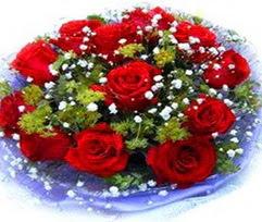 9 adet kirmizi güllerden buket  Kocaeli çiçekçiler