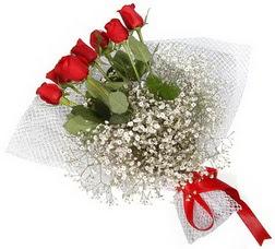 7 adet kirmizimi kirmizi gül buketi  Kocaeli çiçek yolla , çiçek gönder , çiçekçi