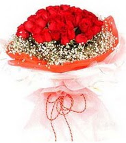 Kocaeli çiçek yolla , çiçek gönder , çiçekçi   21 adet askin kirmizi gül buketi