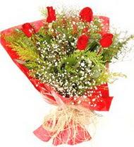 Kocaeli online çiçekçi , çiçek siparişi  5 adet kirmizi gül buketi demeti