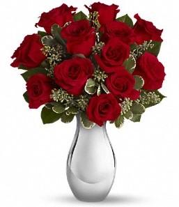 çiçek online çiçek siparişi   vazo içerisinde 11 adet kırmızı gül tanzimi