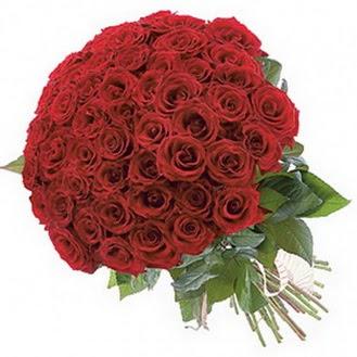 çiçekçi telefonları  101 adet kırmızı gül buketi modeli