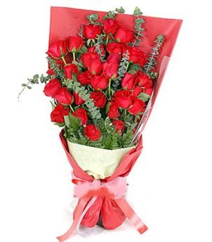 Kocaeli internetten çiçek satışı  37 adet kırmızı güllerden buket