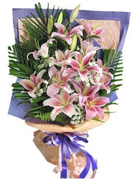 7 dal kazablankadan görsel buket  çiçek gönderme