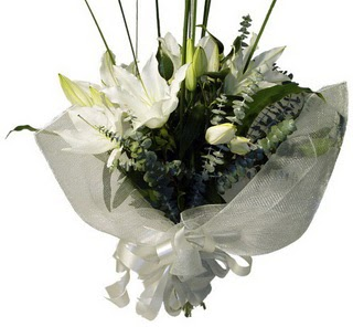 Kocaeli cicekciler , cicek siparisi  2 dal kazablanka çiçek buketi